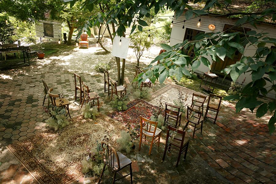 小さなアンティーク結婚式2