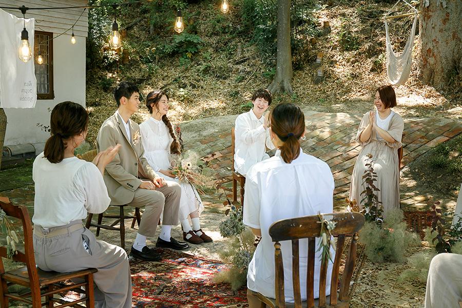 小さなアンティーク結婚式3