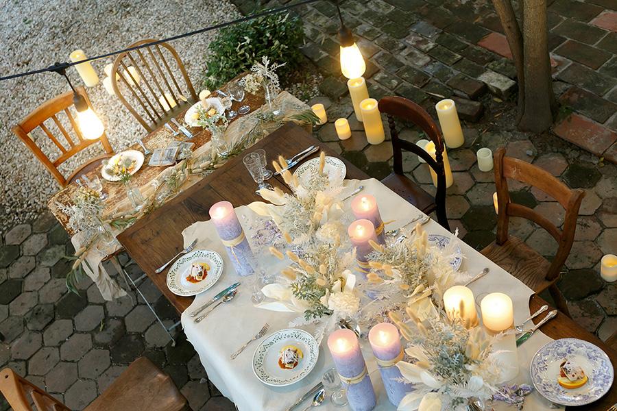 小さなアンティーク結婚式5