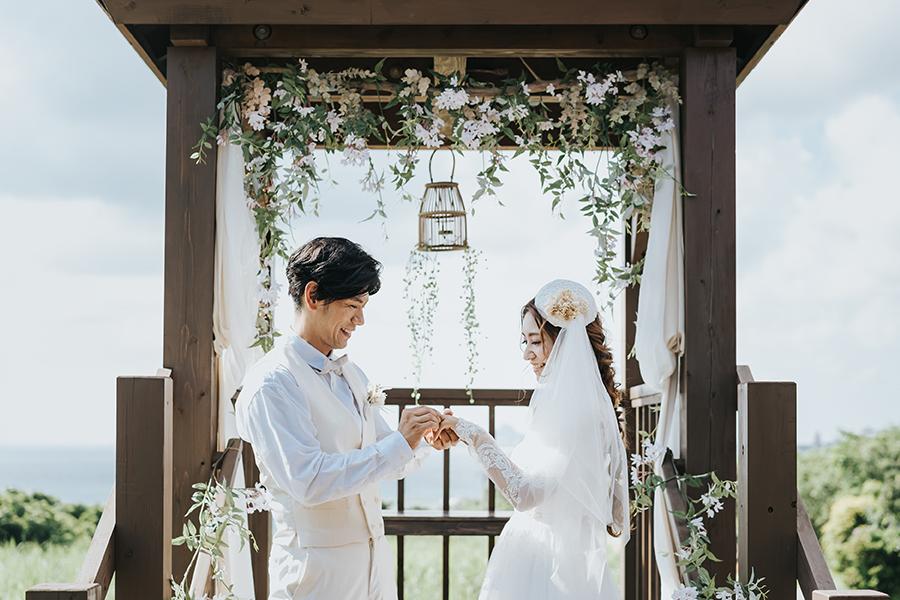 香る結婚式
