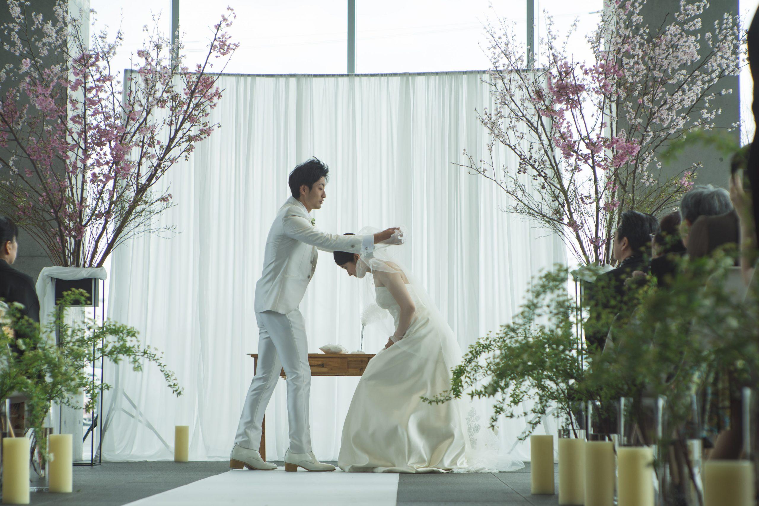 今治港みなと交流センターはーばりーでの結婚式