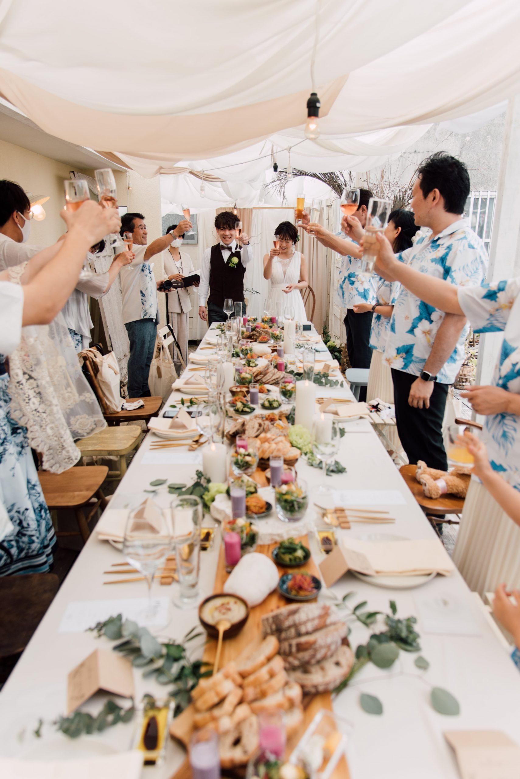 Le Passage aimer.okinawaでの小さな結婚式