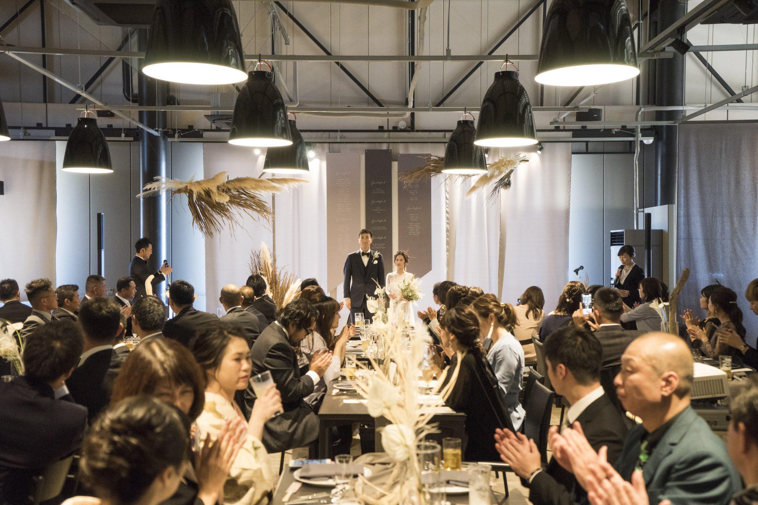 P-style weddingがプロデュースした広島でのオリジナルウェディング