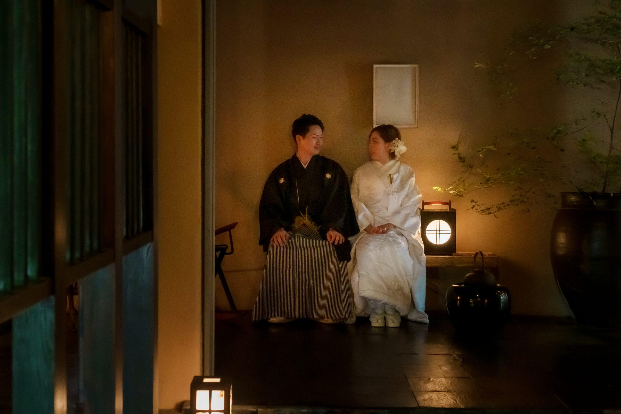 広島石亭での和装前撮り